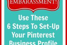 Pinterest Business Account Info