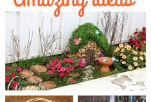 Miniature fairy garden diy