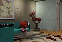 010116 Modern Du Turret / My new house in Fusion style, medieval and maurish with modern.