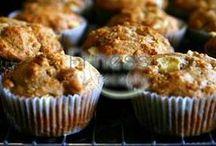 Muffiny, donuty (sladké, slanė) zdravé