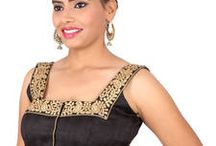 Stylish Blouses / High on style blouses for every saree lover- http://bit.ly/1WE5Rus