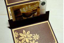 Gutscheinhalter/Gift Card Holders