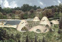 Cafe in Dimas villages / Cafe in Dimas villages, Damascus- Syria by Ark-Kassam Architects