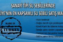 Sanayi Tipi Su Sebilleri / Sanayi Tipi Su Sebilleri Satış Mağazası
