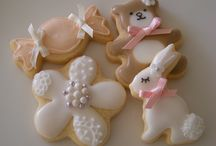 Decorated Baby Shower Cookies / Baby shower cookies