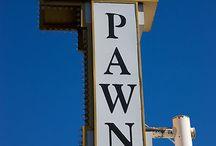 Pawn Shop / Pawn Shop to Tablica firmowa Lombardu na Złotej.