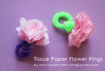 Paper Flowers / by Julie Bates