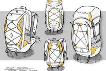 Skisser ryggsäck
