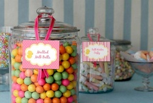 Candy Buffet Labels