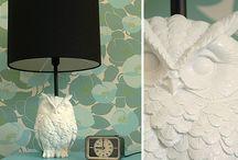 Owl land Bedroom