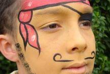 Facepainting - Boys / Boys design