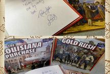 Education- History / History helps and lessons for mainly primary grades. Kindergarten.  / by Linda Gibelyou