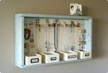 Crafting - Storage & Organization / Ideas and products for storage & organization / by Julia Grace Arts
