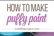 Paint nice and fluffy
