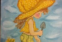 My paintings based to Sarah Kay