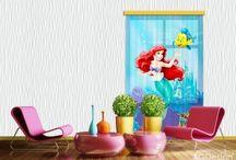 Ariel a kis hableány gyerekszoba