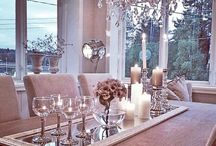 Dining Table Decor / by Brett Pickett