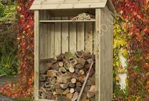 High Wootton Log Store / The High Wootton Log Store, available in a range of widths, and at 6ft high, is a spacious and sturdily built holder for lots of logs.