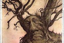 Деревья всякие нужны / Графика деревья