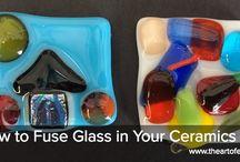 Art Project Ideas - Glass/Fusing Glass