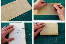 notesbøger/ papir