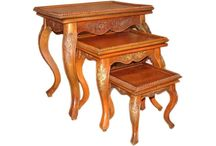 Nesting Tables / Nesting tables can be interesting since they can be stacked or pulled into interesting configurations.