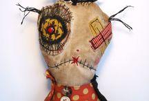 Monstruos Muñecas Monsters Dolls / Para los miedos de cada uno / by Gloria Gregorio