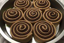 felt foods - cinnamon rolls