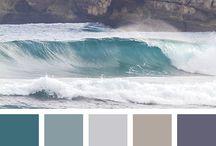 Colour palette grey & ...