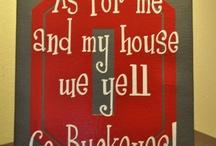 go bucks! / by Sue Vanderhoof