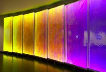Colorful glass