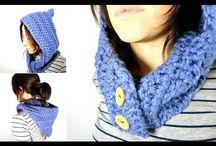 Cuello capuchas/cuellos/bufandas