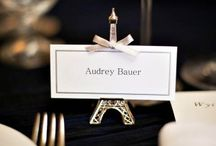 Elegant Paris Weddings / The best wedding ideas for your elegant Paris wedding, especially featuring Eiffel Tower wedding decorations.