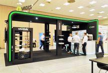Stoisko VIDIS / Stoisko firmy VIDIS, targi IMSE, wrzesień 2015