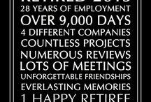 Retirement / retirement party ideas