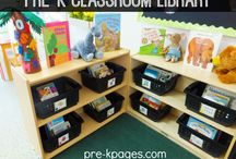 Preschool Library Ideas