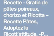 Recettes gratins