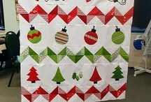Quilts - Row Christmas