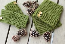 crochet boot cuff  / crochet boot cuff patterns I have / by Martha Avans