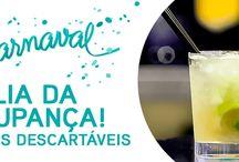 Carnaval 2016 - A Folia da Poupança! / Carnaval 2016 - Copos Destacáveis A nossa melhor oferta em http://bit.ly/carnaval2016copopalhinhas