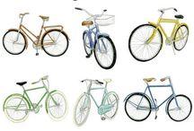 Bisiklet ve bisikletler. araç.  otomobil.