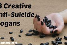 Anti Suicide Slogans