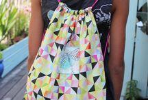 sewing bags / Taschen nähen