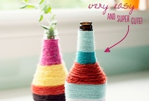 Wool wrapped bottles