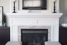 Fireplace Decor  / Inspiration for fireplace decor or make overs