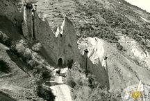 Sur la route du Val d'Hérens / Images d'autrefois route Sion-Arolla