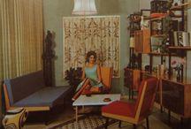 1950s interiors
