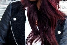Deep/Dark/Rich Hair colours- underlying pigment of; RED / Collection of hair colours levels 3-5