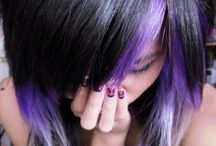 Purple Hair / by Iris Rivas