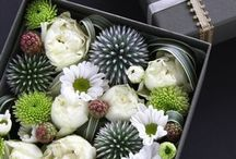 floral box of chocs
